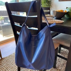 Matt & Nat Glance Hobo Bag - Beautiful Blue